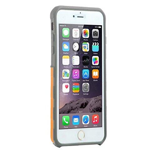 iPhone 5 Coque,iPhone 5S Coque,iPhone SE Coque,Lantier souple intérieure TPU Bumper & Shell dur massif PC Shock-Absorption & Anti-Scratch hybride double couche Slim Cover pour Apple iPhone 5/5S/SE ora