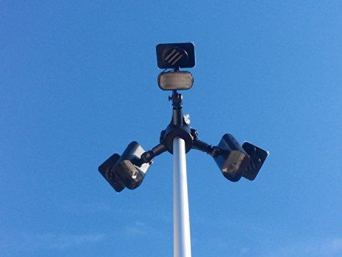 Polepal Solar Led Flagpole Lighting System in US - 2