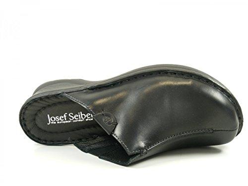 Josef Seibel Catalonia 54 - Zuecos Mujer Schwarz