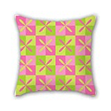 PILLO geometry cushion covers ,best for him,boys,kids boys,adults,festival,teens boys 16 x 16 inches / 40 by 40 cm(each side)