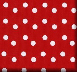 amazon com trendy red white polka dot gift wrap wrapping paper xl