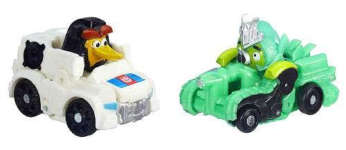 Angry Birds Transformers Telepods Autobird Jazz Bird Vs Deceptihog Brawl Pig Ne