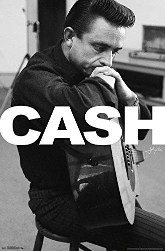 Trends International Johnny Cash Wall Poster Multi -