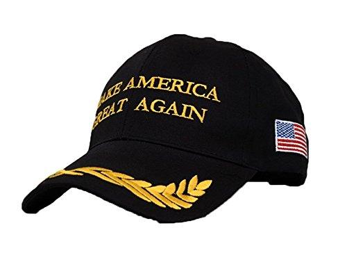 Homder Adjustable Baseball Cap Embroidered Hip Hop Hat Make America Great Again Hats