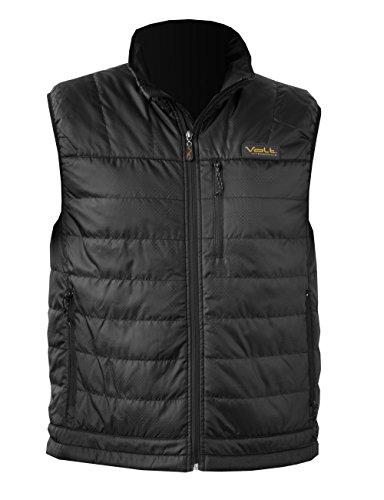 Heated Nylon Vest - VOLT Men's Cracow Heated Vest, Black, X-Large