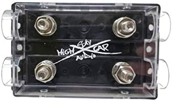ANL Fuse block 300 amp FUSE w// 2//0 AWG Lugs and heat shrink GP Car Audio 2