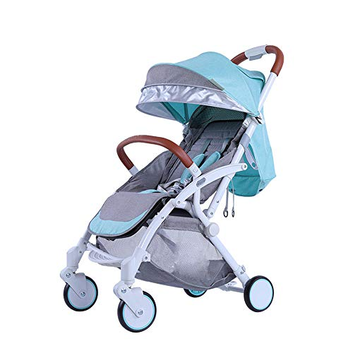 DYFAR Stroller Organiser Stroller Bag for Air Travel Silver Cross Easy and Compact Folding Sport Stroller Pushchair for Toddlers, Blue (Silver Cross 3 In 1 Travel System)