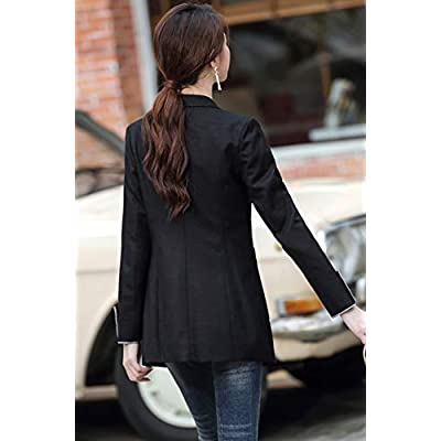 SUSIELADY Womens Casual Jacket Casual Work Blazer Office Jacket Slim Fit Blazer for Business Lady at Women's Clothing store