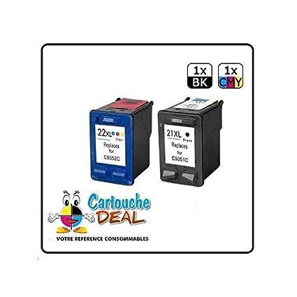 Deal-® Genérico-Juego de 2 cartuchos HP 21XL 22XL F4100 HP ...