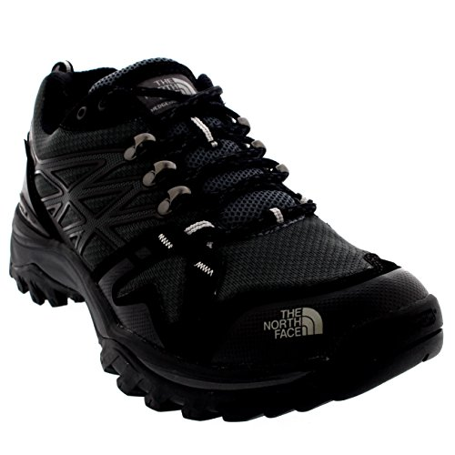 Mens The North Face Hedgehog Fastpack Goretex Running Walking Trainers - Black/Gray - 11