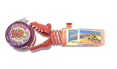 Alligator Candy Lollipop and Yo-yo Bubble Gum Bundle Set]()
