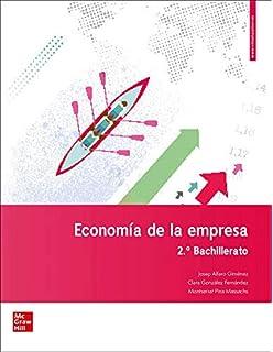 Economía De La Empresa - 2º Bachillerato - 9788448609337: Amazon.es: Alfaro Giménez,Josep, González Fernández,Clara, Pina Massachs,Montserrat: Libros