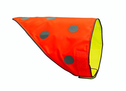 spot-the-dog-easy-fastening-revesible-dog-bandana-medium-to-large-florescent-orange-yellow