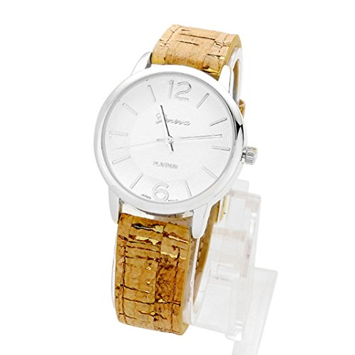 rosemarie-collections-womens-silver-tone-designer-inspired-round-face-cork-band-watch