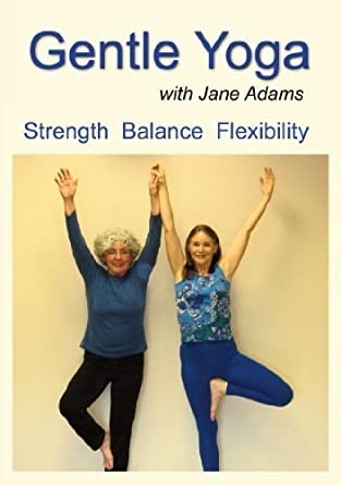 Gentle Yoga with Jane Adams: A Complete Beginning Yoga ...