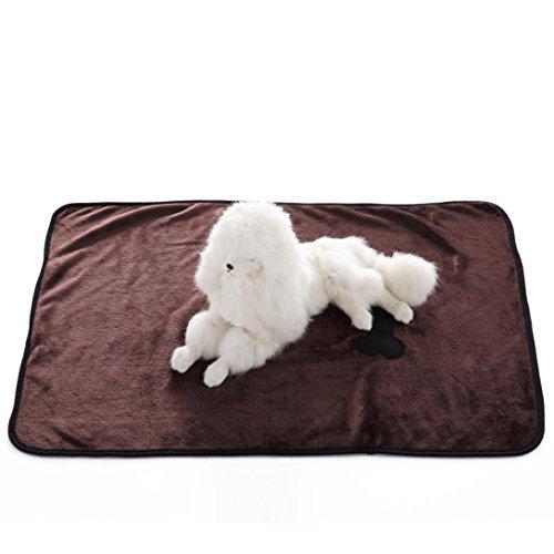 Cowboy Sleep Mat (Mikey Store Pet Dog Cat Blanket, Soft Warm Carpet Comfortable Mat (Brown))