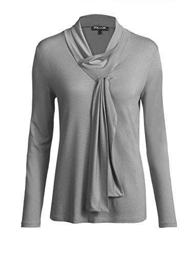 Mocca by J.L. - Camiseta sin mangas - para mujer plata