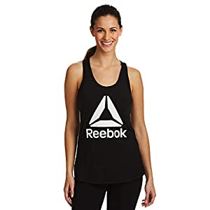 Reebok Women's Running & Workout Tank Top – Legend Performance Singlet Racerback Exercise Shirt