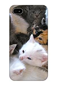 Creatingyourself Fashion Protective Animal Cat Case Cover For Iphone 4/4s