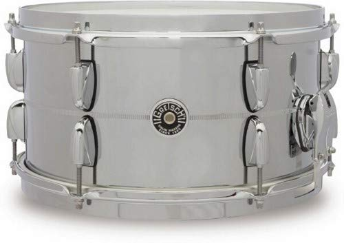 Gretsch Drums Brooklyn Series Steel Snare Drum 13 x 7 by Gretsch Drums