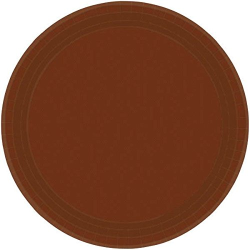 Amscan 65015.111 Party Supplies, 9 x 9, Chocolate Brown by Amscan (Image #3)