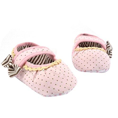 Clode® Chaussures bébé Enfants bowknot Toddler douce Sole (0 ~ 6 mois)