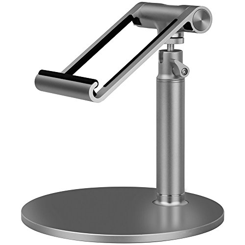 MOMAX Luxury metal stand holder for iPad and tablet (Silver) by MOMAX