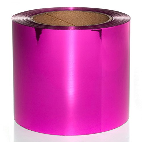 Cerise Metallic PVC Roll - 4