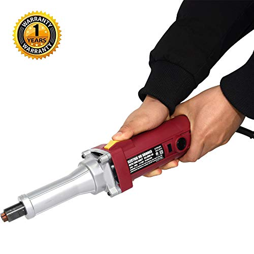 EJWOX 1/4 in. 4.3 Amp Heavy Duty Long Shaft Electric Die Grinder