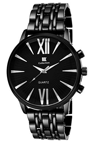 IIK COLLECTION Analogue Black Dial Men's Watch