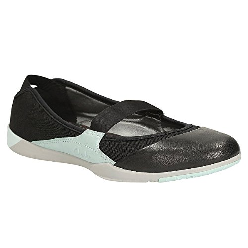 Clarks Main Line Amorie Dance Negro Para Mujer Shoes, Color Negro, Talla 37