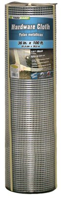Midwest Air Tech/Import 308241B 36-In. X 100-Ft. Galvanized Hardware Cloth Hardware Cloth
