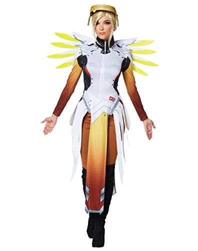 Spirit Halloween Adult Mercy Costume - Overwatch -