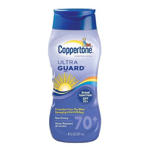 Coppertone Ultra Guard Sunscreen Lotion 8 fl oz (237 ml) ...