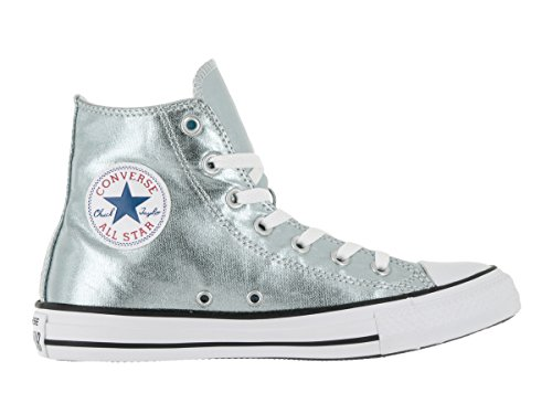Skate Sneakers Chuck Star Metallic High Metallic All White Converse Glacier Black Top Hi Mens Taylor x4qYYw