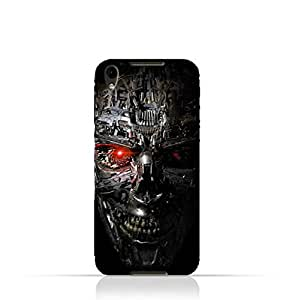 BlackBerry DTEK50 TPU Protective Silicone Case with Terminator Robot Design