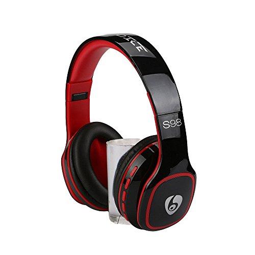 Wireless Bluetooth 4.1 Foldable Stereo Headset Earphone-Black
