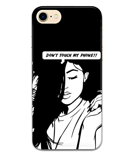 sports shoes b668b 179e7 Meghrasa Don't Touch My Phone Mobile Back Cover & Case for Apple ...