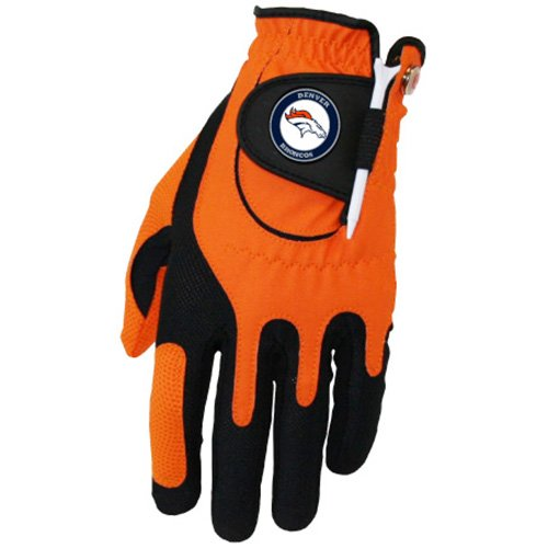 - Zero Friction NFL Denver Broncos Golf Glove, Left Hand