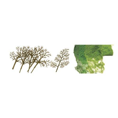 JTT Scenery Products Premium Series: Sycamore Tree Kit, 3-4