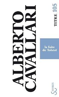La fuite de Tolstoï, Cavallari, Alberto