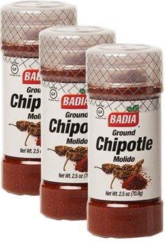 Badia Chipotle Ground 2.5 oz Pack of 3