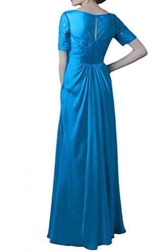 Toscane mariée design abendkleider chiffon à manches longues en dentelle ballkleider brautmutter party