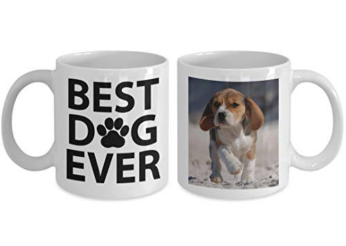 MyFaveGift Custom Personalized Dog Mom & Dad Custom Pet Picture Coffee Mug Perfect Gift Idea For Birthday Graduation Christmas Father