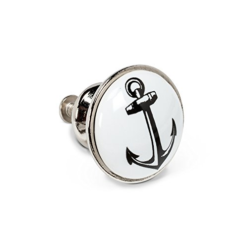 Abbott Collection 27-HOME/11 ANCHOR Small Black & White Anch