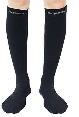 CompressionZ Thermal Winter Sport Compression Socks 20-30 mmHG for Men & Women