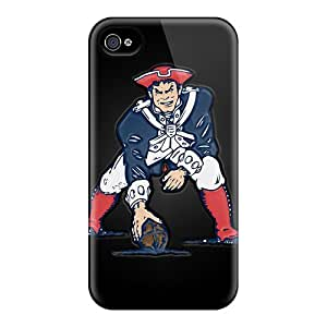 Hot YlT45s70snNu Case Cover Protector For Iphone 4/4s- New England Patriots
