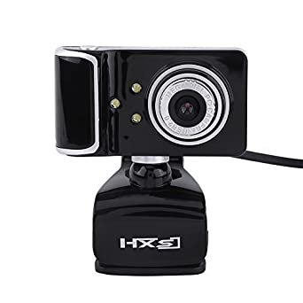 USB 16M Pixels HD Webcam Camera Web Cam With Microphone Mic LED For PC Windows