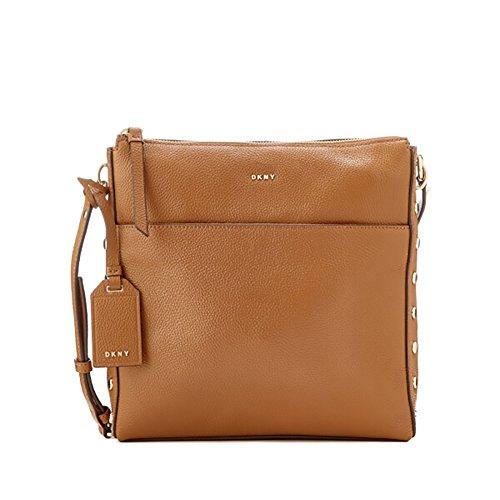 DKNY Women's Chelsea Pebbled Leather Top Zip Cross Body Bag - Dkny Bag Body Cross