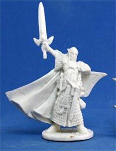 Turanil, Male Elf Paladin (1) (Paladin Miniatures)